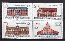 Buy GERMANY DDR [1987] MiNr 3067-70 4er ( **/mnh ) Bauwerke