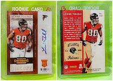 Buy NFL Levine Toilolo Atlanta Falcons Autographed 2013 Panini Playoff Ticket Rc Mnt