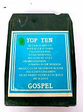 Buy Top Ten Gospel Volume 6 (8-Track Tape, VI-77-1054-8T)