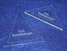 "Buy 2 Pc Kaleidoscope Set - 1/8"" for 6"" Finished Square W/seam Allowance"