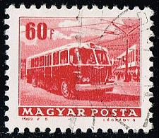 Buy Hungary #1512 Trolley Bus; CTO (4Stars) |HUN1512-03