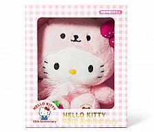 Buy New SANRIO Hello Kitty 45th Anniversary Memorial Plush Doll Strawberry Bear