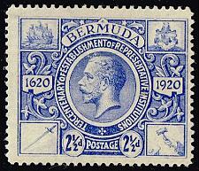 Buy Bermuda #75 King George V; Unused (2Stars) |BER0075-01XRP