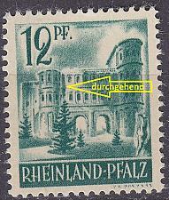 Buy GERMANY Alliiert Franz. Zone [RheinlPfalz] MiNr 0004 vw I ( **/mnh )