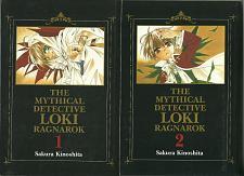 Buy Mythical Detective Loki Ragnarok vol. 1-2 Manga Book Lot in English