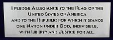 Buy Pledge of Allegiance-US 1 Piece Stencil Painting /Crafts/ Templates