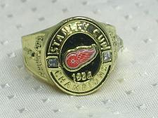 Buy Detroit Red Wings Championship Ring NHL Stanley Cup Molson Canadian New