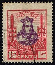 Buy Lithuania #246 Grand Duke Vytautas; Used (1Stars)  LIT0246-01XRP