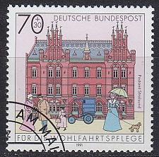 Buy GERMANY BUND [1991] MiNr 1565 ( O/used ) Bauwerke