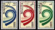 Buy MALTA [1973] MiNr 0472-74 ( O/used ) CEPT