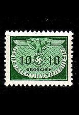 Buy GERMANY REICH GenGouv [Dienst] MiNr 0018 ( **/mnh )