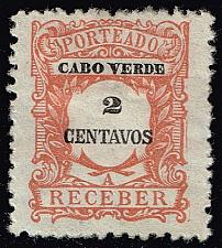 Buy Cape Verde #J23 Postage Due; Unused (3Stars) |CPVJ23-08XRS