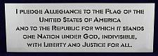 "Buy Pledge of Allegiance-US 1 Piece Stencil-8"" x 23"" Painting/Crafts/Templates"