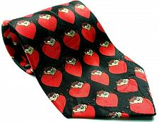 Buy Looney Tunes Tazmanian Valentines Red Heart Love Men's Tie All Over Print