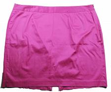 Buy Lane Bryant Women's A Line Skirt Size 24 Solid Pink Side Zip