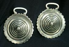Buy Horse Brass Matching PAIR Beevhive Harness Medallion Ornament 3D Vintage Antique