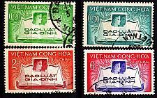 Buy VIETNAM SÜD SOUTH [1960] MiNr 0200-03 ( O/used )