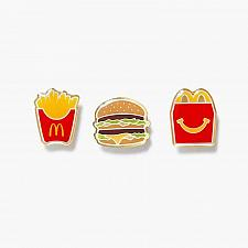 Buy New Limited McDonald's Meal Pin Set Fast Free Shipping World Famous Fries