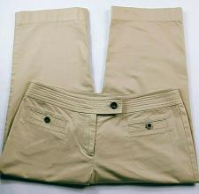 Buy Talbots Women's Petites Capri Pants Size 6P Solid Tan Stretch