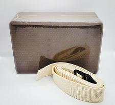 Buy Brand New Gaiam Yoga Foam Block W/Strap