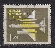 Buy GERMANY DDR [1957] MiNr 0613 ( OO/used ) Flugzeuge