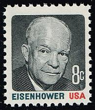 Buy US #1394 Dwight D. Eisenhower; MNH (0.25) (3Stars) |USA1394-05