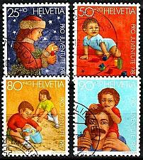 Buy SCHWEIZ SWITZERLAND [1987] MiNr 1359-63 ( O/used ) Pro Juventute