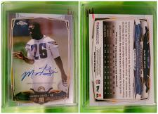 Buy NFL Marion Grice San Diego Chargers Autographed 2014 Topps Chrome Rookie Mint