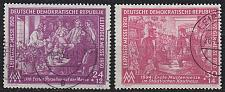 Buy GERMANY DDR [1950] MiNr 0248-49 ( OO/used ) [02]