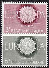 Buy BELGIEN BELGIUM [1960] MiNr 1209-10 ( **/mnh ) CEPT