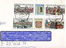 Buy GERMANY DDR [1988] MiNr 3173-76 Zdr ( Brief )