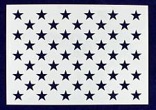 """Buy 50 Star Field Stencil 14 Mil -US G Spec 10 3/4"""" x 15.2"""" Long Star Field- Paintin"""