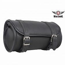 "Buy Black Motorcycle Front Fork Barrel Shape Tool Bag 10"" Pouch Bike Universal New"