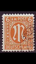 Buy GERMANY Alliiert AmBri [1945] MiNr 0020 B ( O/used )