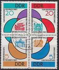 Buy GERMANY DDR [1962] MiNr 0901-04 4er ( OO/used )