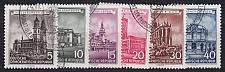 Buy GERMANY DDR [1955] MiNr 0491-96 ( O/used ) Bauwerke