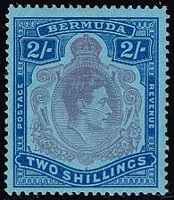 Buy Bermuda #123 King George VI; Unused (3Stars) |BER0123-01XRP