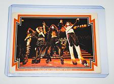 Buy VINTAGE KISS LIVE 1978 AUCOIN ROCK MUSIC COLLECTORS CARD #44 GD/VG