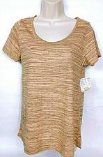 Buy NWT LuLaroe Women's Classic T Gray Orange Short Sleeve Striped Size XS