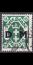 Buy GERMANY REICH Danzig [Dienst] MiNr 0003 ( OO/used )