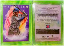 Buy MLB FRANCISCO ARCIA CHICAGO CUBS 2019 TOPPS INCEPTION BASEBALL RC /150 MINT