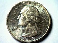 Buy 1950-S WASHINGTON QUARTER GEM UNCIRCULATED GEM UNC.TONED NICE ORIGINAL COIN