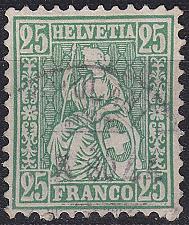 Buy SCHWEIZ SWITZERLAND [1867] MiNr 0032 a ( O/used )