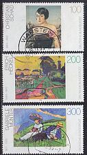 Buy GERMANY BUND [1994] MiNr 1748-50 ( O/used ) Gemälde