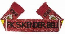 Buy FK Skenderbeu Korce Football Soccer Scarf, Albania. Shall Sportiv.