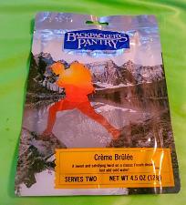Buy Backpacker's Pantry CREME BRULEE 4.5 oz 2 SERVINGS Camp survival Food SEALED