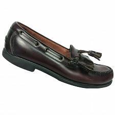 Buy Rockport Mens Comfort DMX Burgundy Leather Dress Tasseled Kilt Loafers 9.5 M