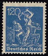 Buy Germany #147 Miners; Unused (1Stars) |DEU0147-02