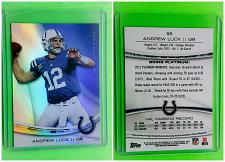 Buy NFL ANDREW LUCK INDIANAPOLIS COLTS 2013 TOPPS PLATINUM FOOTBALL #95 MNT