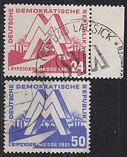 Buy GERMANY DDR [1951] MiNr 0282-83 ( OO/used ) [03]